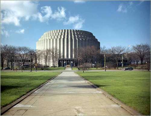 61 thrift power ford rotunda for Lincoln motor company corporate headquarters